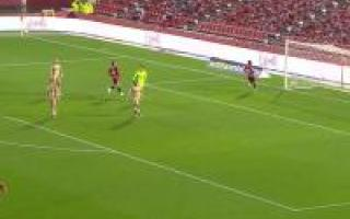 Summary of the match between Mallorca and Cartagena
