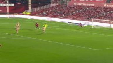 Summary of the match between Mallorca and Cartagena.