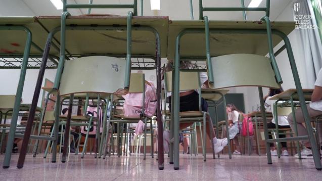 Schoolroom in Mallorca