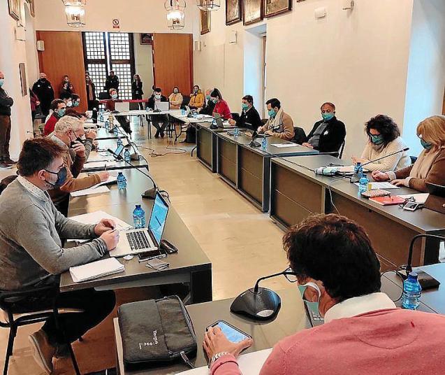 Council meeting in Pollensa, Mallorca