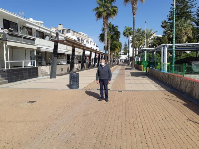 The strip in Cala Millor needs an update