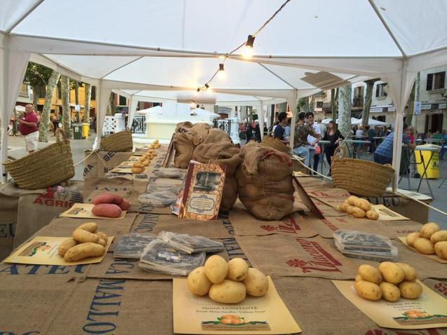 Potatoes from Sa pobla