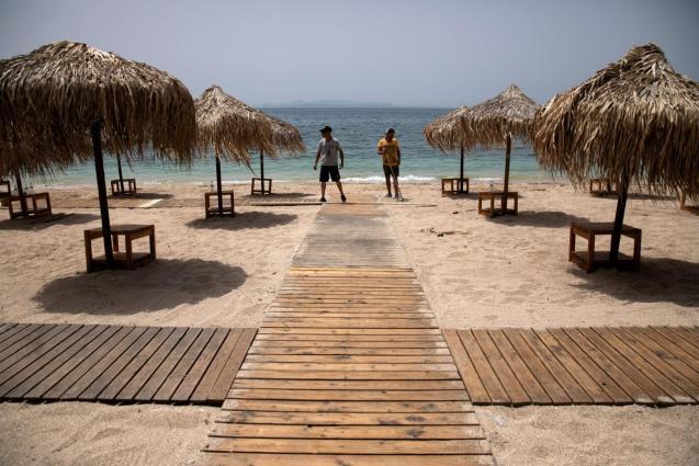Greece ready to welcome tourists.