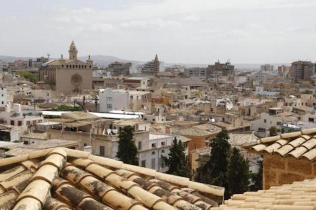 Rooftops in Palma.