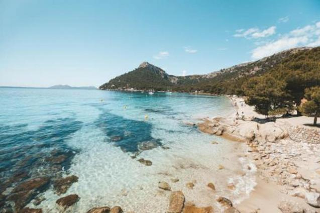 Beach in Mallorca.