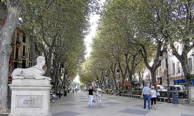 Passeig Born, Palma, Mallorca