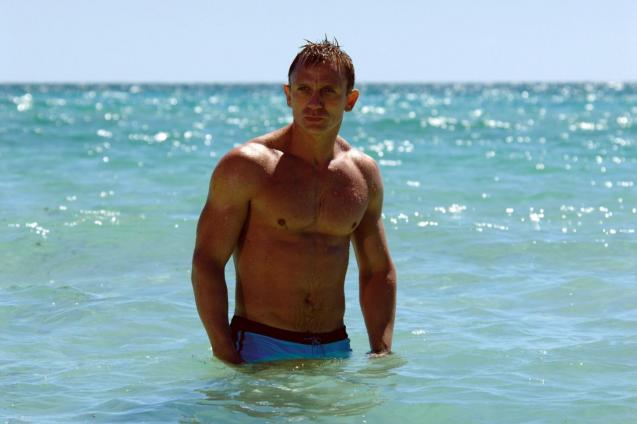 "Image from the film ""Casino Royale"" with Daniel Craig"