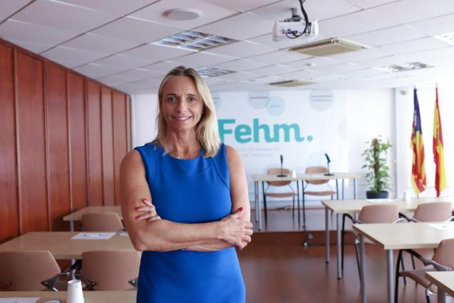 Maria Frontera, president of the Mallorca Hoteliers Federation