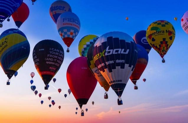 Hot air ballon competition