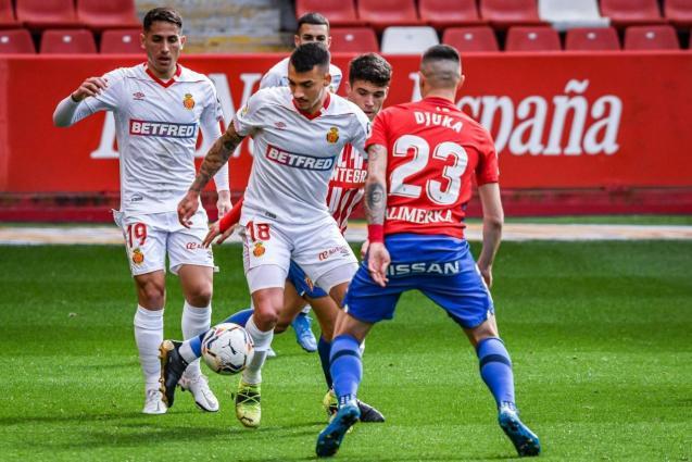 Sporting Gijón v. Real Mallorca