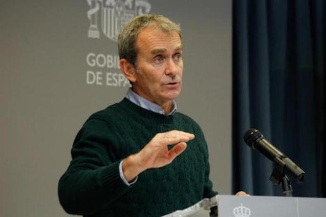 Dr Fernando Simón, Director, Centre for Coordination of Health Alerts & Emergencies.