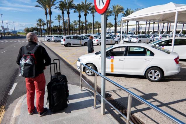 German tourists Mallorca.