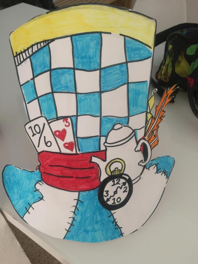 Queen's College school Alice in Wonderland