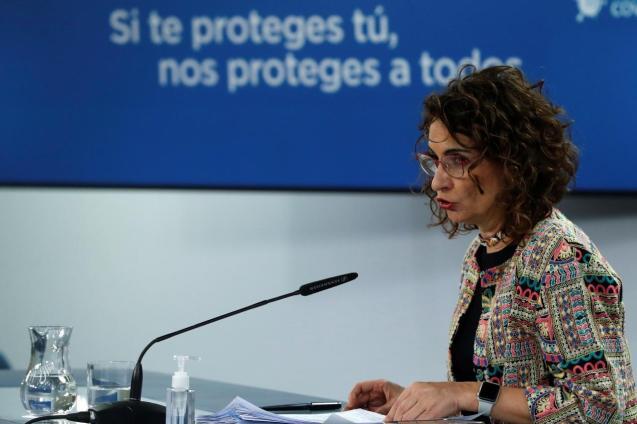 Maria Jesús Montero, spokesperson for Spain's government.