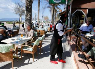 German tourists splash out on Mallorca