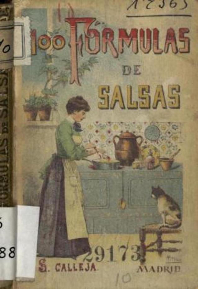 '100 Formulas de Salsas' booklet.