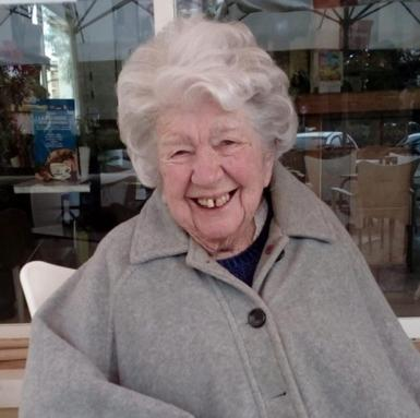 Our Peggy was one hundred years of age this week.