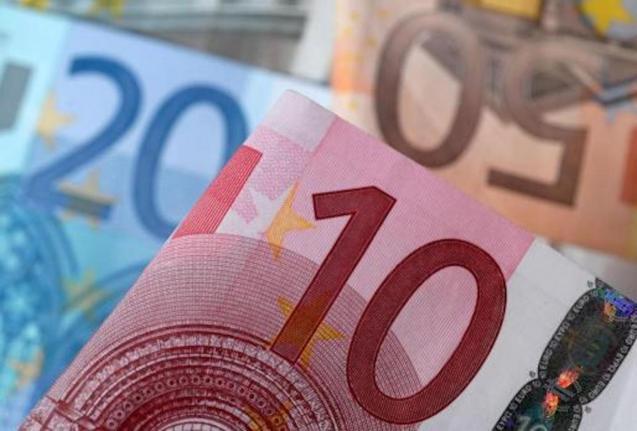 Euro exchange rate.