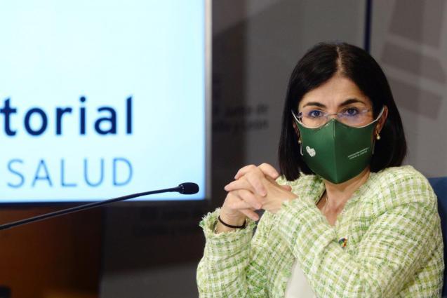 Spain's health minister Carolina Daria