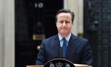 Former prime minister David Cameron.