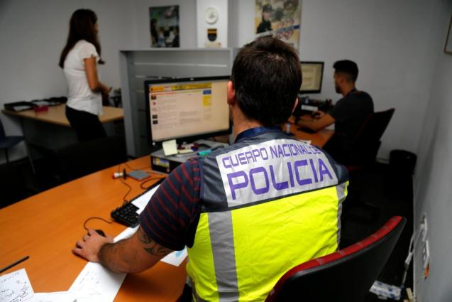 National Police in Mallorca