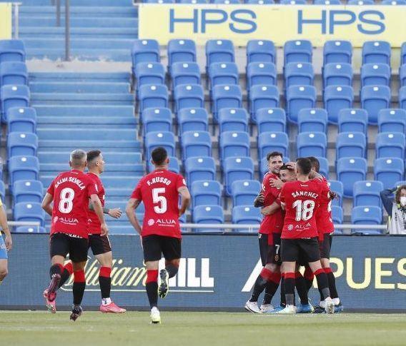 Real Mallorca score against Las Palmas