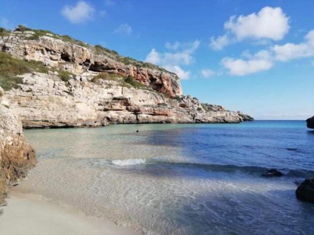 Cala Màrmols, Mallorca.