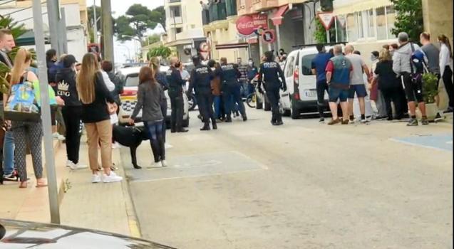 Tensions in Cala Ratjada, Mallorca