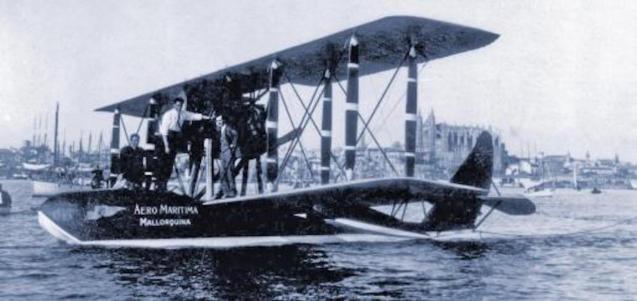 Aero Maritima Mallorquina seaplane, Palma.