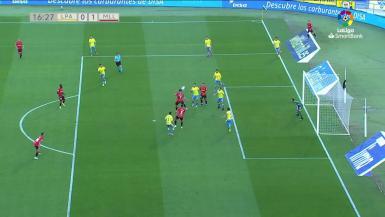 Summary video between Las Palmas and Real Mallorca.