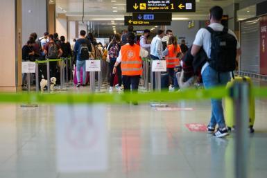 Airport exit document control