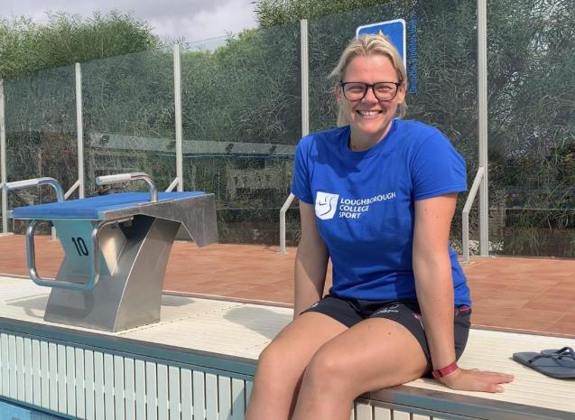 Anna is the tutor from Loughborough College who lives in Colonia Sant Jordi and delivers a BTEC in sport