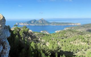 Views from the Tramuntana mountains