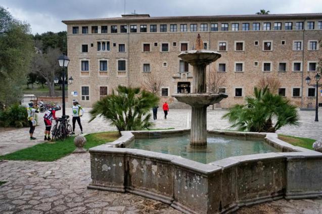 El Santuario de Lluc, Mallorca.