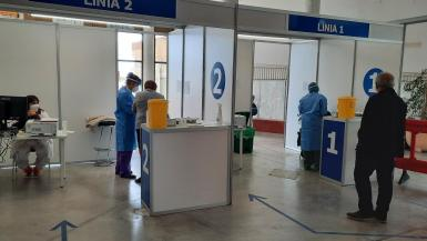 Vaccination is now being given at the Manacor Hippodrome.