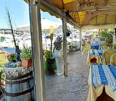 El Faro restaurant.