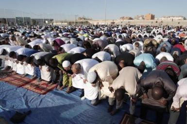 Muslims celebrating Ramadan in Mallorca in 2019. archive photo.