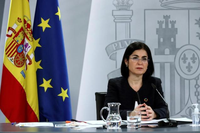 Spain's health minister, Carolina Darias