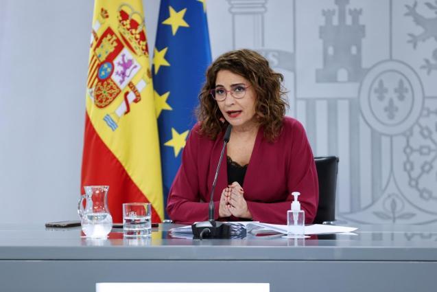 Maria Jesús Montero, spokesperson for Spain's government