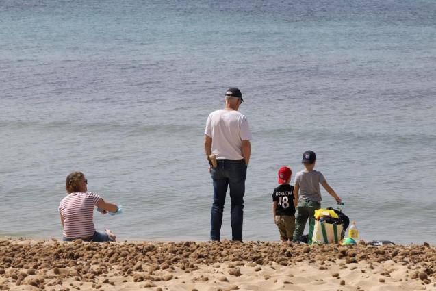 Tourists in Playa de Palma, Mallorca