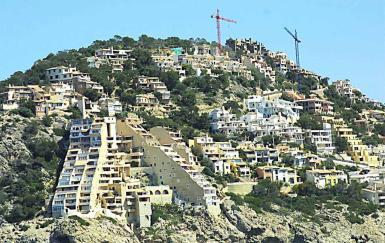 Construction in Puerto Andratx.