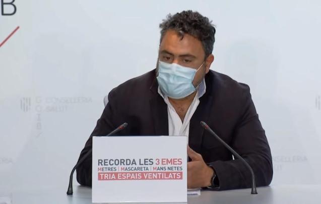 Antonio Oliver, head of microbiology at Son Espases Hospital, Mallorca