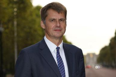 Her Majesty's Ambassador to Spain, Hugh Elliott.
