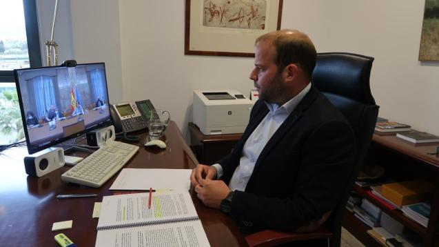 Balearic environment minister, Miquel Mir