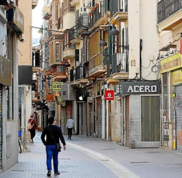 Business closures in Palma.