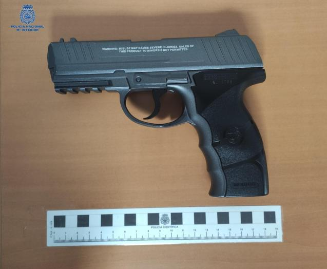 BB gun used in shootings in Palma, Mallorca