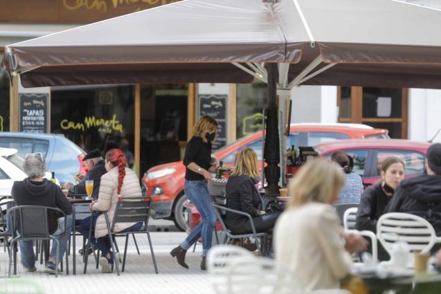 Bar terrace in the Balearics