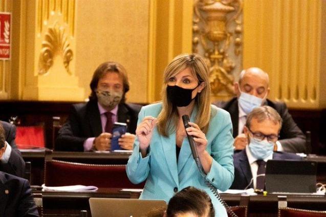 Patricia Guasp of Ciudadanos in the Balearics.