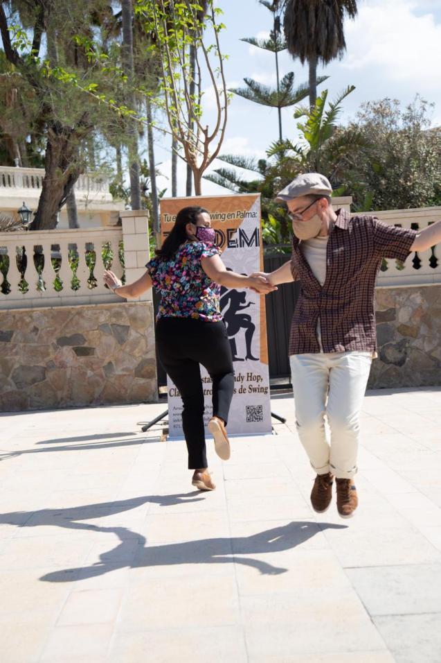 dancing in Palma