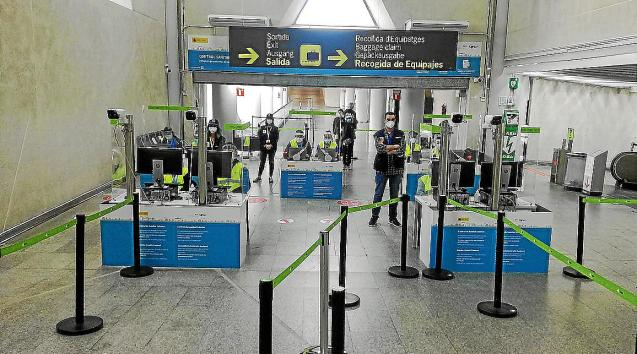 PCR controls at Son Sant Joan airport